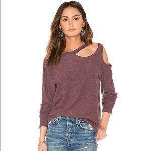 New LNA Double Slash Sweater